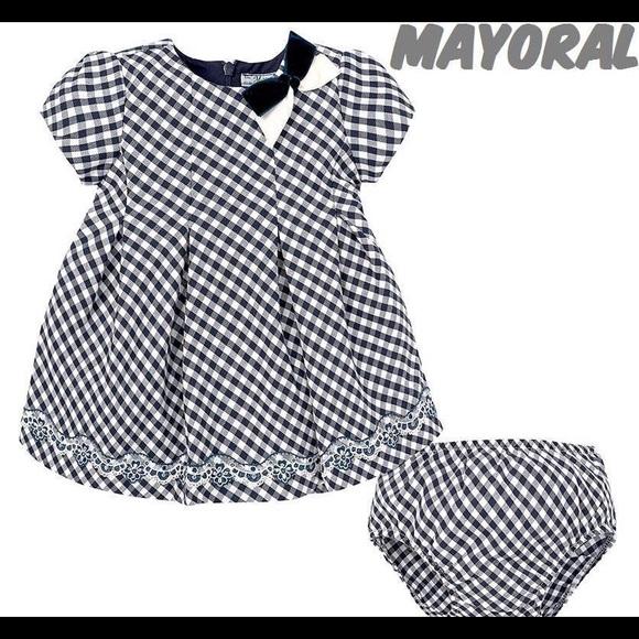 cb7db85850d3 Mayoral Dresses | Nwot Baby Girl Dress 9 Months | Poshmark